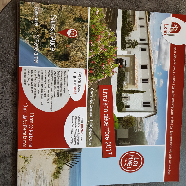 Programme neuf Villa Salles-d'Aude 11110