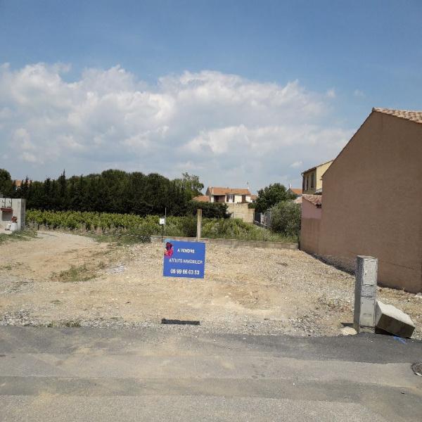 Offres de vente Terrain Lézignan-Corbières 11200